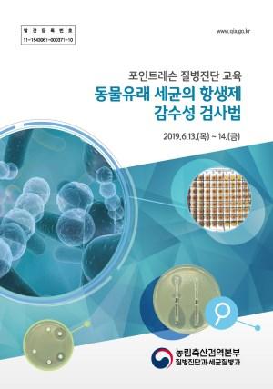 포인트레슨 질병진단 교육 동물유래 세균의 항생제 감수성 검사법
