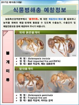(2017년 10호) 식물병해충 발생정보