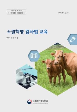 소결핵병 검사법 교육 2018.9.11