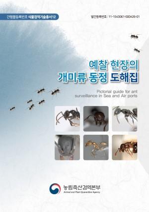 예찰 현장의 개미류 동정 도해집